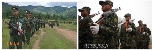 Clashes between TNLA and RCSS continue as talks stall