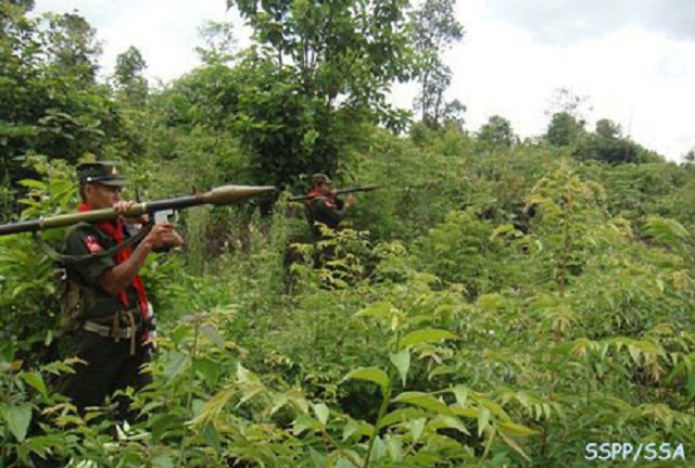 Burma Army detains civilians after clash with SSPP/SSA