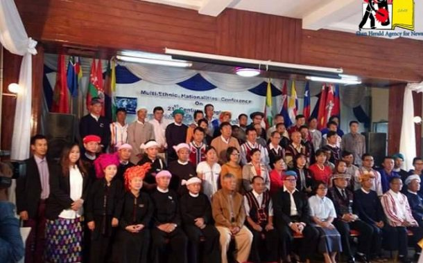 Ethnic groups discuss shape of a future Shan State