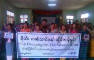 Shan CBOs call for Suu Kyi to halt Salween dams