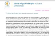 EBO Background Paper No. 4/2016 - Contesting Territories