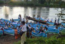 Namtu River in Hsipaw Township