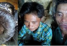 three victim villagers