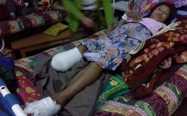 3 killed, 7 wounded by Burmese air strike in Kyaukme