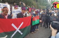 Kachins rally at Burmese consulate in Chiang Mai