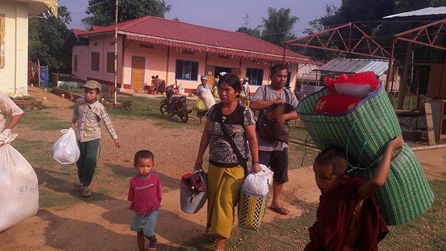 300 villagers displaced as Burmese army, TNLA clash in Namtu