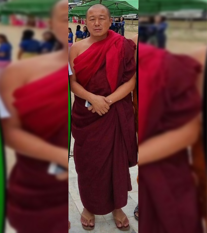 abbot of Shwe Kyin monastery in northern Shan State's Kyaukme town