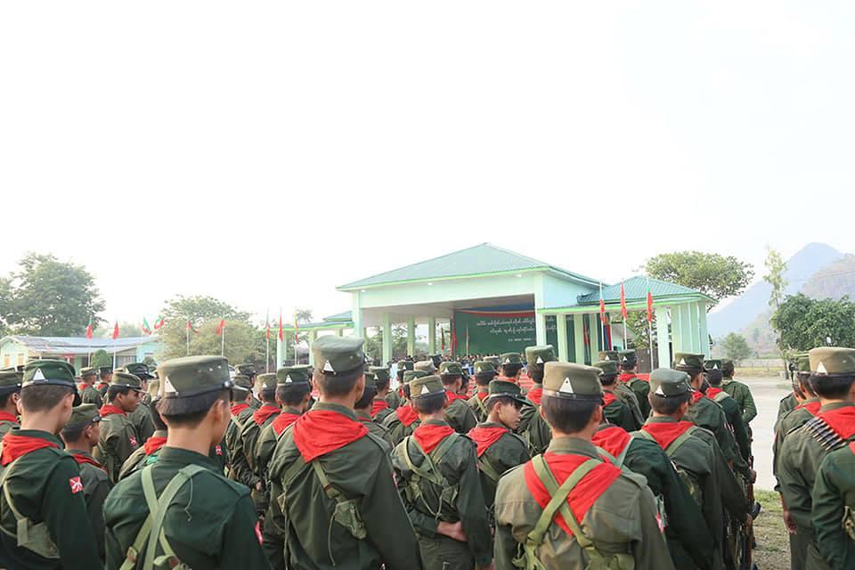 Shan Revolution Day Parade