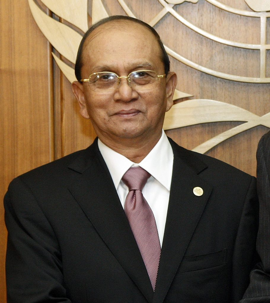 former president Thein Sein
