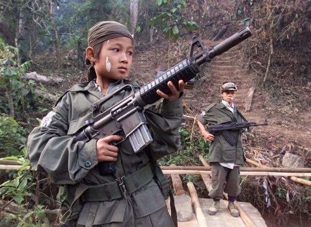 7 child soldiers