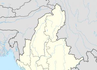 Myanmar adm location map