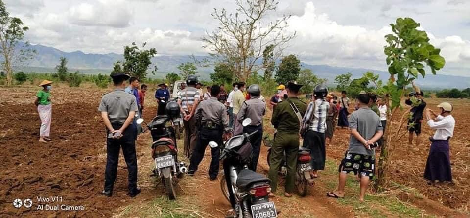 Farmers Protest Land Grabs In Siseng Township Southern Shan State 2