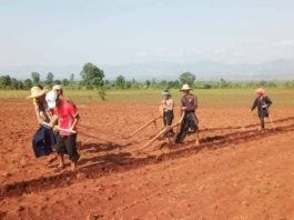 Farmers Protest Land Grabs In Siseng Township Southern Shan State