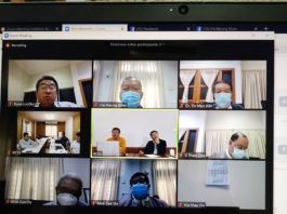 Teleconference call Restoration Council of Shan StateShan State Army RCSSSSA and Government representatives June 16