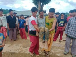 Aik Maung sustained serious injuries from the attack by the Burma Army