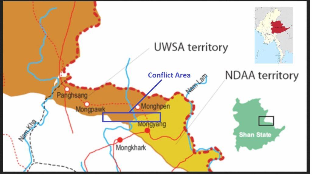 Conflict Area between NDAA and UWSA