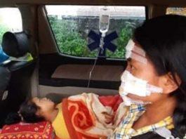 Kutkai villager Injure bomb blast 8 July 2020