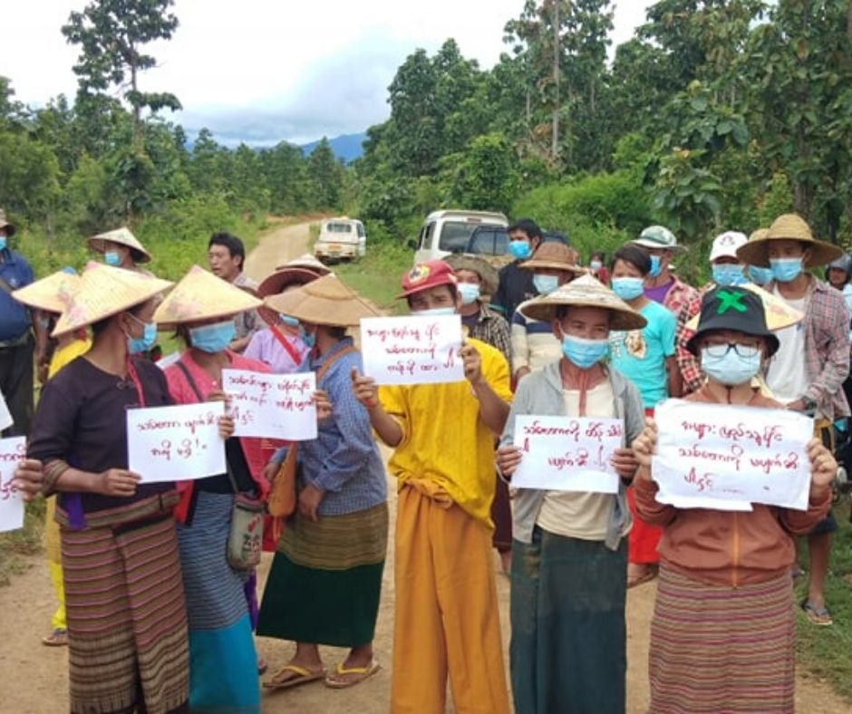 Local people Opposition for authorities Halt Creation of Highland Farms at Hsihseng