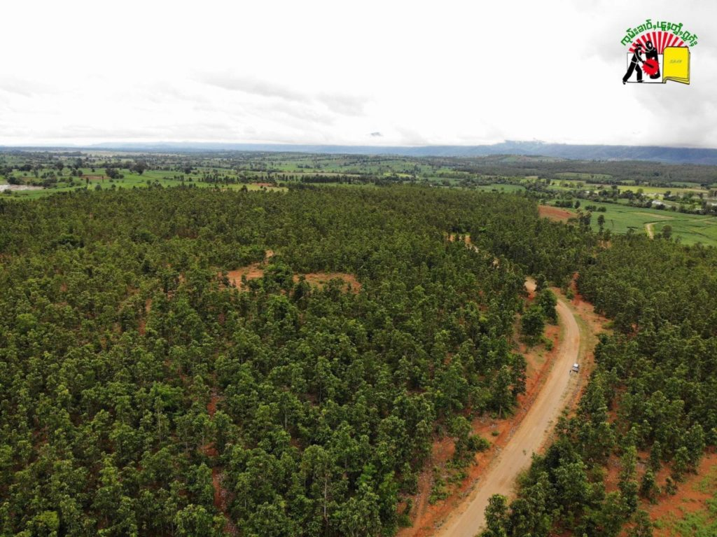 Nam Taung forest at