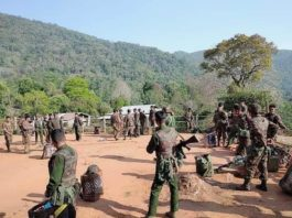 Burmese military sent troop to Nunkham