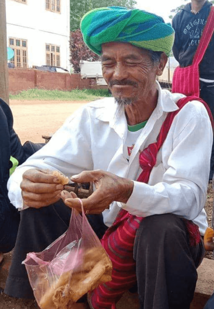 Over 70 years old Hsihseng farmer