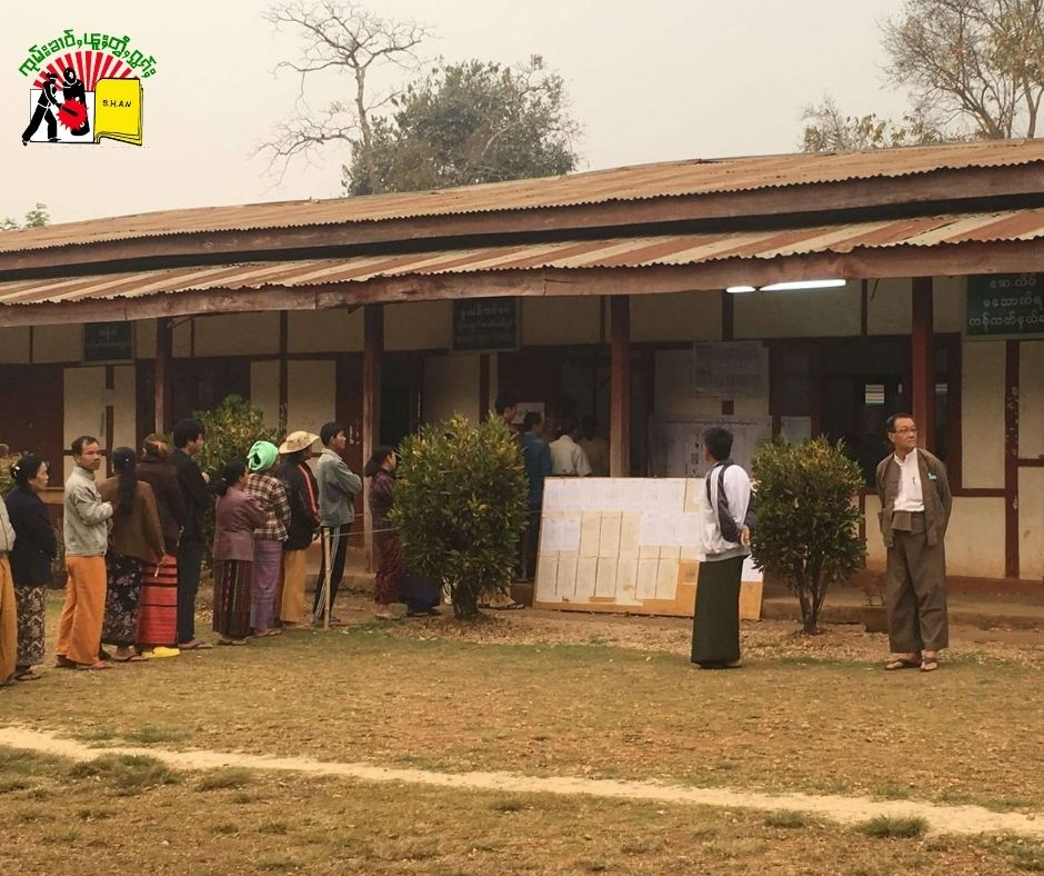 Polloing Station in Shan State
