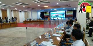Shan State EC Press Conference at TGI
