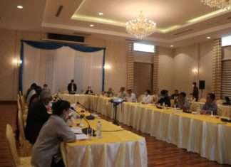 UPDJC meeting 14 to 18 August at Naypyidaw