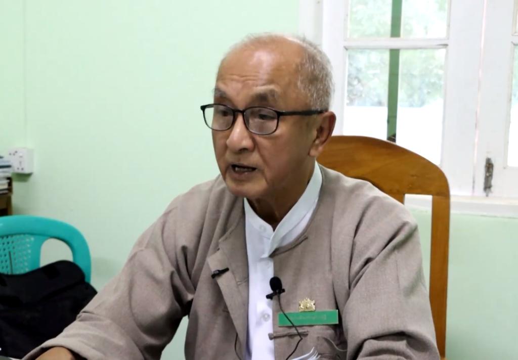 Htin Kyaw chair of Shan State EC