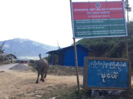 Mong Baw village