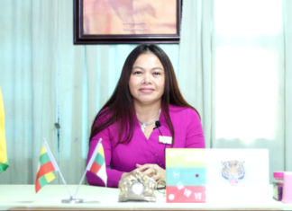 Nang Mya Oo chairperson of Shan Nationalities League for Democracy SNLD Taunggyi
