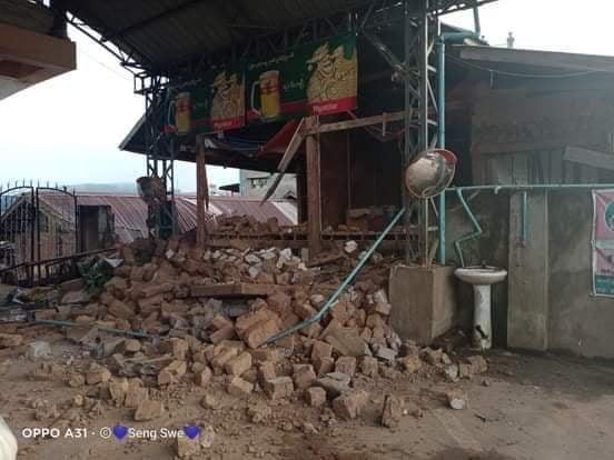 Photo Credit to Sai Oo Kham Nam Salap Flood at Hsenwi 2