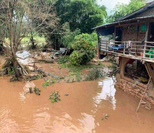 Photo Credit to Sai Oo Kham Nam Salap Flood at Hsenwi