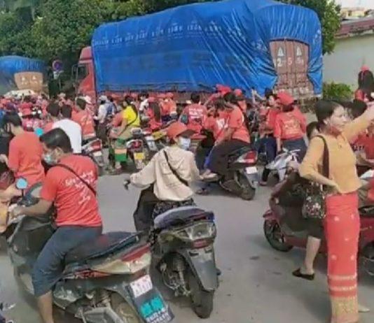 Burmese about 400 at Shweli China