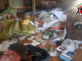 Num Mak Hin Villagers Homes Looted in Kyaukme Township
