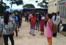 Photo Credit to Win Naung Soe FB Quarantine center at Taunggyi Shan State