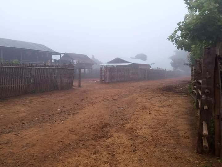 Taang Village in Mong Kung Township