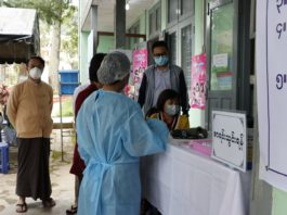 Thousands of Girls in Taunggyi Vaccinated Against HPV 1