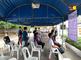 migrant workers come to vote at Myanmar Consulate at Chiangmai 1