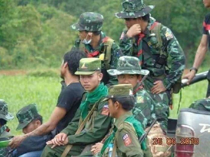 RCSS and SSPP soldier