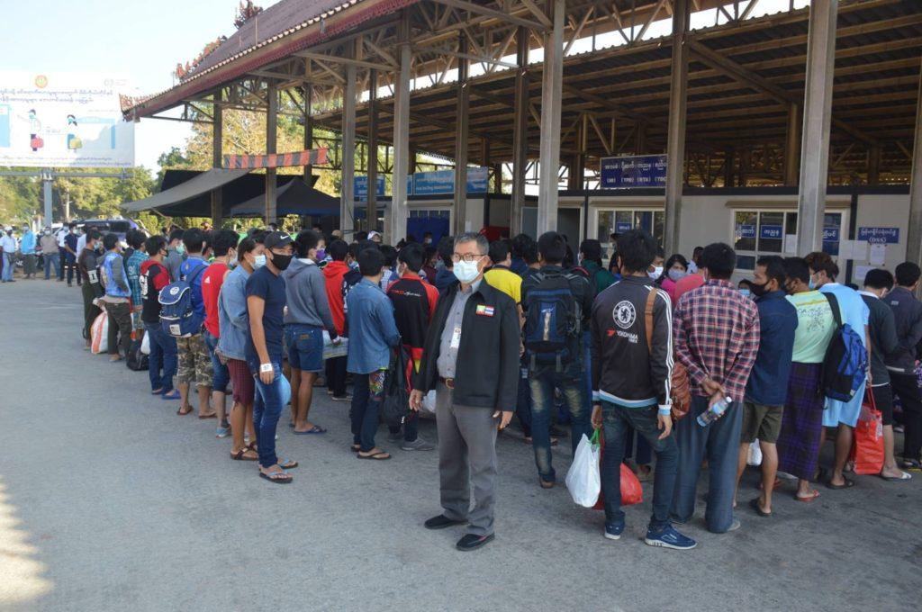Thai sent Myanmar back Photo Credit to U Tun Maesai