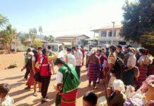 War Victims at Kyautmae by Aum Tamao