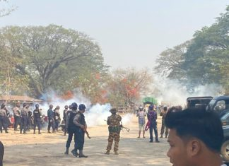 Hsipaw protest
