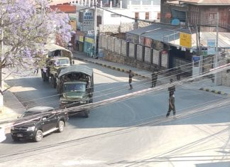 Military sent force to towndown Taunggyi 17 March 2021