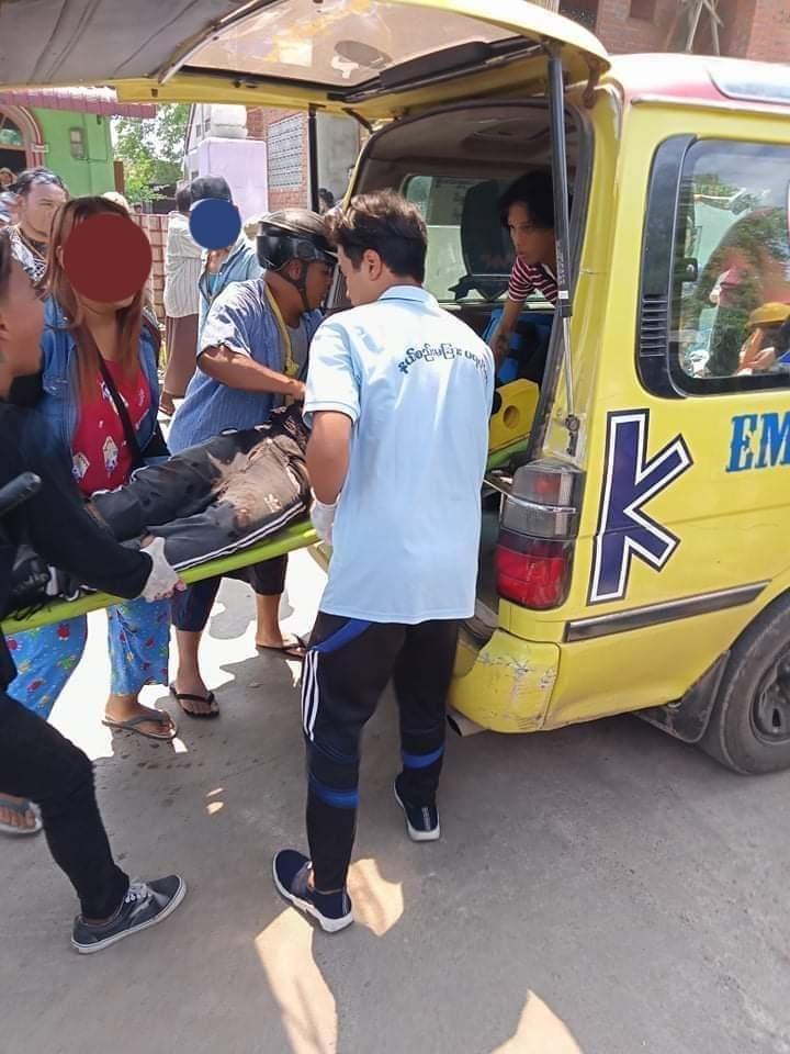 Hsipaw protester kill by Junta