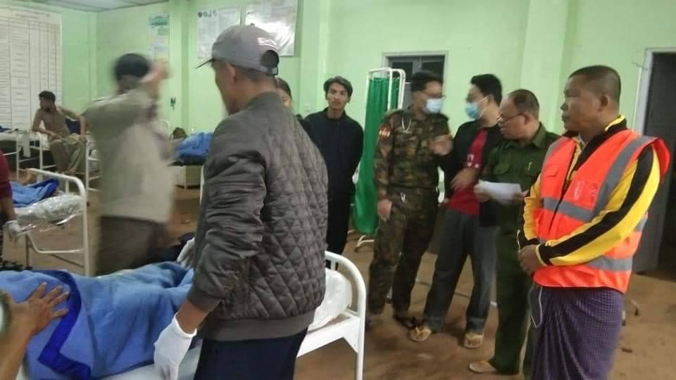 Kutkai villager injure in Junta and Alliance troop fighting May 4 and 5