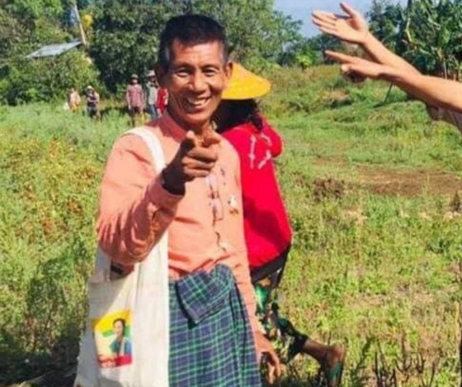 Tin Myint aka Maw Si NLD MP in Southern Shan State