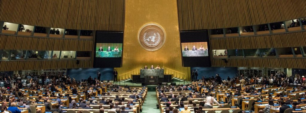 United Nations General Assembly UNGA meeting