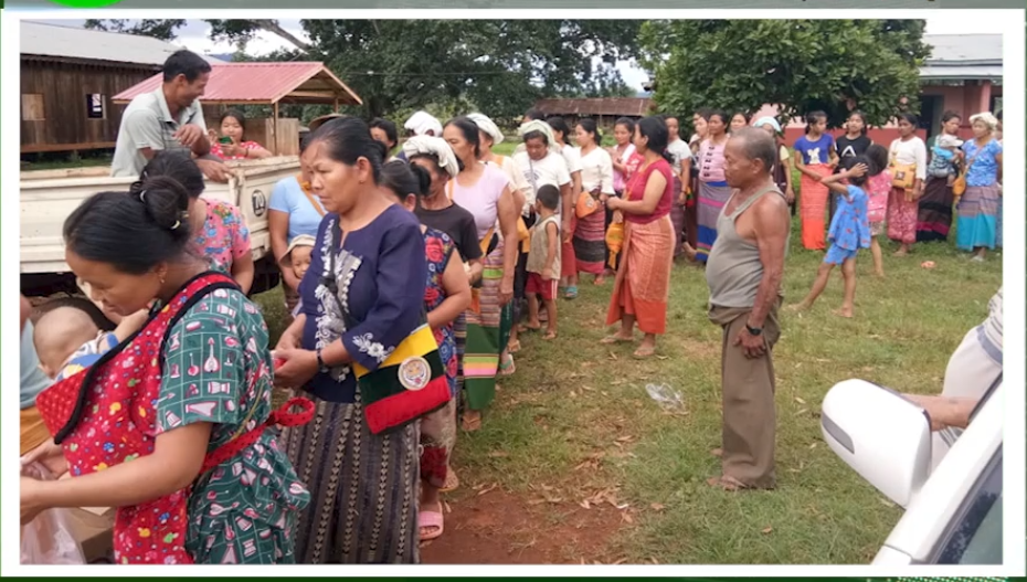 War Victims reach Kesi 1 July