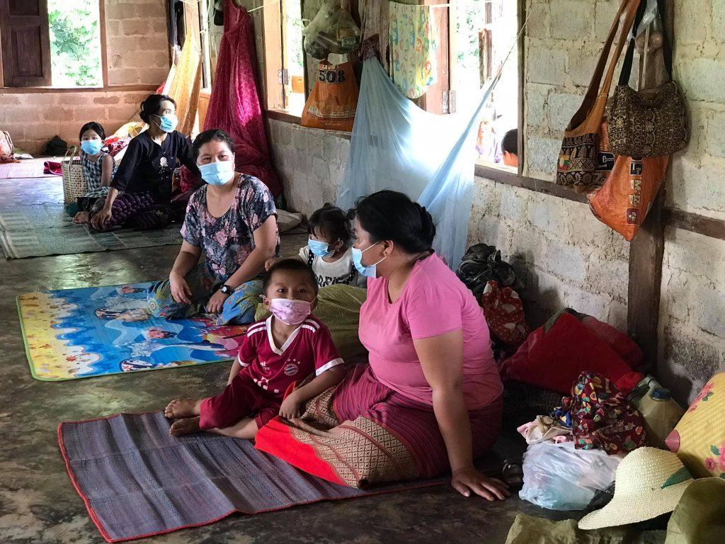 Hsipaw villagrs at Mongkung
